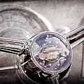 1950 Oldsmobile Rocket 88 Steering Wheel Emblem by Jill Reger