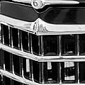 1950 Willys Jeepster Grille Emblem by Jill Reger