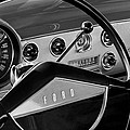 1951 Ford Crestliner Steering Wheel by Jill Reger