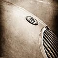 1951 Jaguar Grille Emblem by Jill Reger