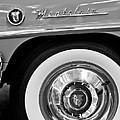 1951 Mercury Montclair Convertible Wheel Emblem by Jill Reger