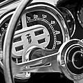 1953 Fiat 8v Ghia Supersonic Steering Wheel by Jill Reger