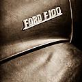 1953 Ford F-100 Pickup Truck Emblem by Jill Reger