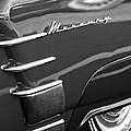 1953 Mercury Monterey Wheel Emblem by Jill Reger
