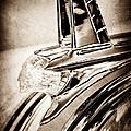 1953 Pontiac Hood Ornament by Jill Reger