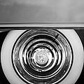 1954 Cadillac Coupe Deville Wheel Emblem by Jill Reger