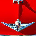 1954 Lincoln Capri Hood Ornament by Jill Reger