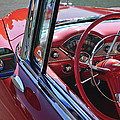 1955 Chevrolet Belair Steering Wheel by Jill Reger