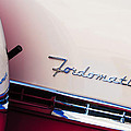 1955 Ford Crown Victoria Fordomatic Emblem by Jill Reger