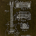 1955 Gibson Les Paul Patent Drawing by Gary Bodnar