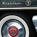 1955 Mercury Montclair Convertible Wheel Emblem by Jill Reger
