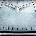 1955 Pontiac Safari Hood Ornament - Emblem by Jill Reger