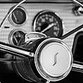 1955 Studebaker President Steering Wheel Emblem by Jill Reger