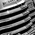 1956 Chevrolet 3100 Pickup Truck Grille Emblem by Jill Reger