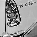 1956 Chevrolet Belair Taillight Emblem by Jill Reger