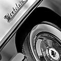 1956 Mercury Montclair Wheel Emblem by Jill Reger