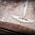 1957 Aston Martin Db2-4 Mkii Emblem by Jill Reger