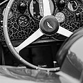1957 Aston Martin Dbr2 Steering Wheel by Jill Reger