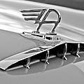 1957 Austin Cambrian 4 Door Saloon Hood Ornament by Jill Reger