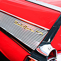 1957 Chevrolet Belair Convertible Taillight Emblem by Jill Reger