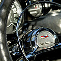 1957 Chevrolet Belair Steering Wheel by Jill Reger