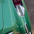 1957 Chevrolet Corvette Taillight by Jill Reger