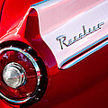 1957 Ford Custom 300 Series Ranchero Taillight Emblem by Jill Reger