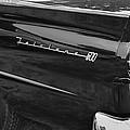 1957 Ford Fairlane Convertible Wheel Emblem by Jill Reger