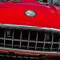 1958 Chevrolet Corvette Grille by Ron Pate