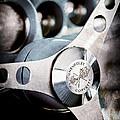 1958 Chevrolet Corvette Steering Wheel Emblem by Jill Reger