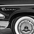 1958 Edsel Pacer Wheel Emblem by Jill Reger