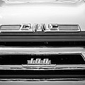 1958 Gmc Series 101-s Pickup Truck Grille Emblem by Jill Reger