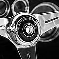 1958 Maserati Steering Wheel Emblem by Jill Reger