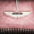 1959 Aston Martin Db Mk IIib Drophead Coupe Emblem by Jill Reger