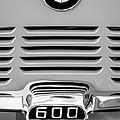 1959 Bmw 600 Isetta Emblem by Jill Reger