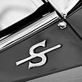 1959 Jaguar Xk150sots Emblem by Jill Reger