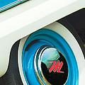 1959 Nash Metropolitan Wheel Emblem by Jill Reger