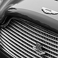1960 Aston Martin Db4 Gt Coupe' Grille Emblem by Jill Reger