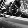 1960 Aston Martin Db4 Series II Steering Wheel by Jill Reger