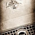 1960 Nash Metropolitan Hood Ornament - Grille Emblem by Jill Reger