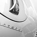 1960 Porsche 356 B 1600 Super Roadster Hood Emblem by Jill Reger