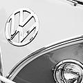 1960 Volkswagen Vw 23 Window Microbus Emblem by Jill Reger