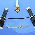1960 Volkswagen Vw Porsche 356 Carrera Gs-gt Replica Hood Ornament by Jill Reger