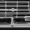 1962 Chevrolet Nova Grille Emblem by Jill Reger