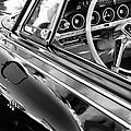 1962 Dodge Polara 500 Side Emblem - Steering Wheel by Jill Reger