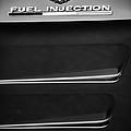 1963 Chevrolet Corvette Sting Ray Fuel-injection Split Window Coupe Emblem by Jill Reger