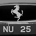 1963 Ferrari 250 Gto Scaglietti Berlinetta Grille Emblem by Jill Reger
