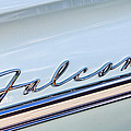 1963 Ford Falcon Futura Convertible  Emblem by Jill Reger