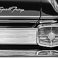 1963 Plymouth Sport Fury Taillight Emblem by Jill Reger