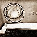 1963 Studebaker Avanti Emblem by Jill Reger